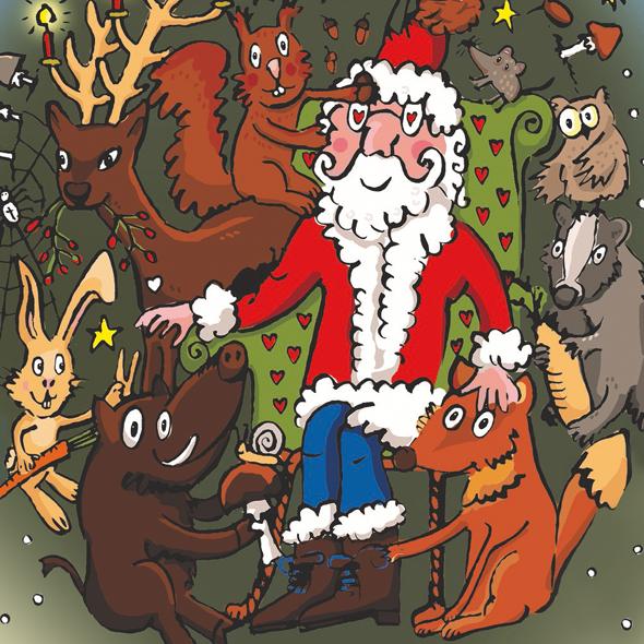 Waldwichtel Weihnacht