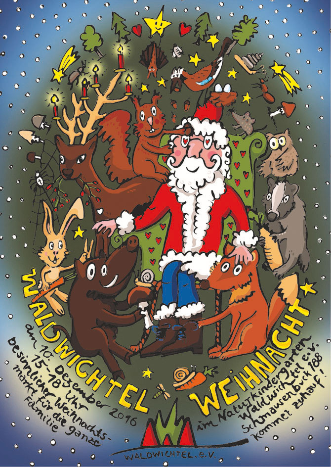 Plakat Weihnachtsbasar 2016